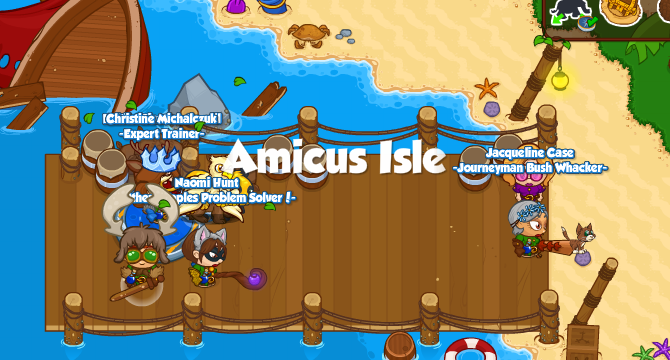 Amicus Isle Banner