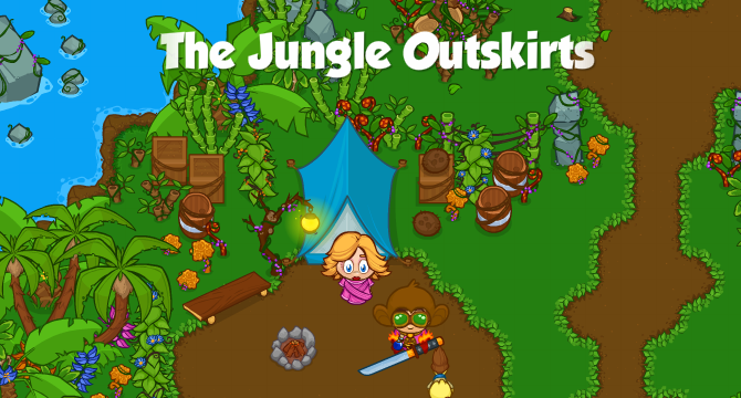 The Jungle Outskirts Banner
