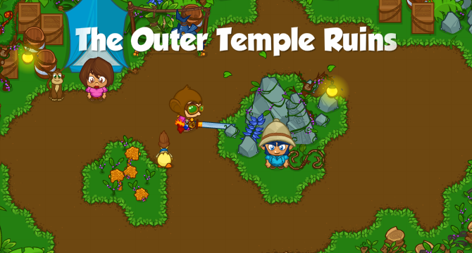 The Outer Temple Ruins Banner