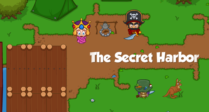 The Secret Harbor Banner