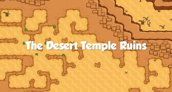 The Desert Temple Ruins