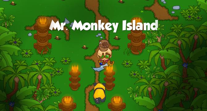 Mr. Monkey Island Banner