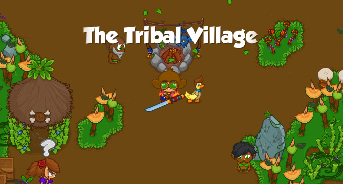 The Tribal Village Banner