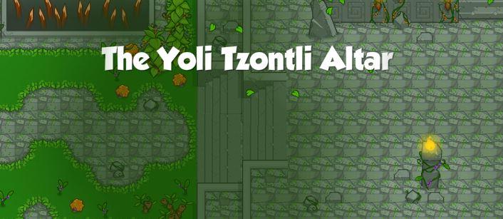The Yoli Tzontli Altar