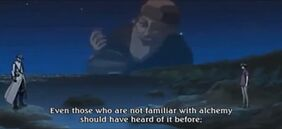 Bravo-Kazuki mentioning Philosopher's Stone