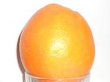 Orange-in-a-glass effect