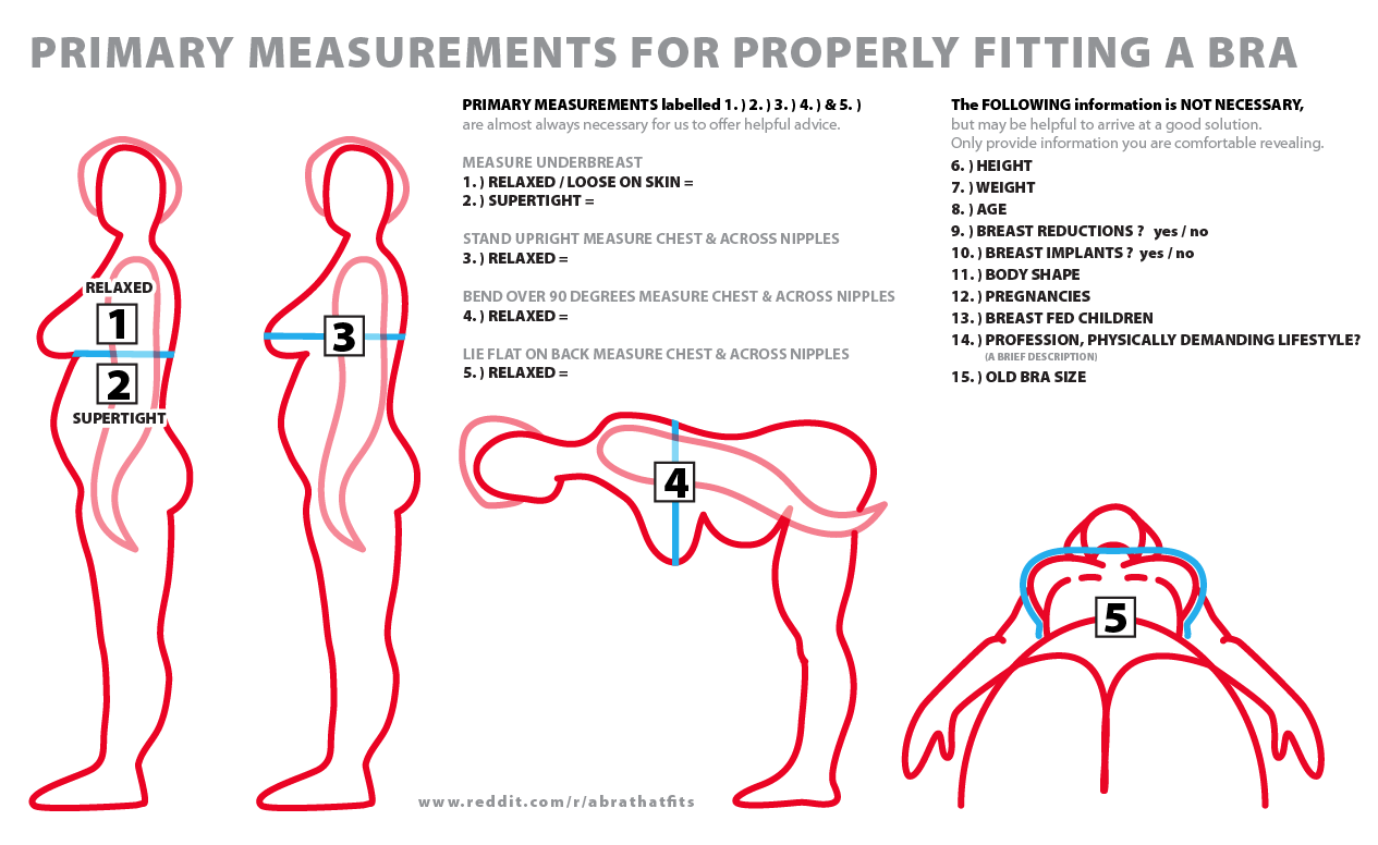 1f28cecfa How-to determine bra size for transgender women