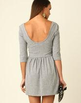 Low-back-grey-dress