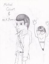 Mike Calvert & Mr. Penicl!