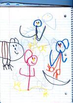 Birds Drawing