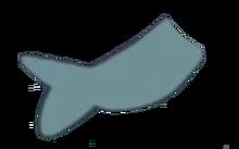 Amethyst Eating a Fish 3