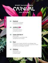 CARNIVAL Tracklist