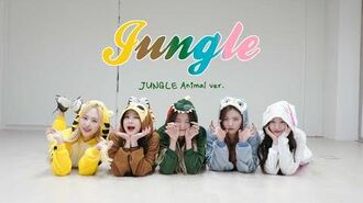 "BVNDIT(밴디트) - ""JUNGLE"" Dance Practice (JUNGLE Animal Ver"