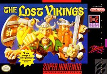 220px-The Lost Vikings SNES cover