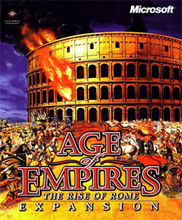 Age of Empires - The Rise of Rome Coverart