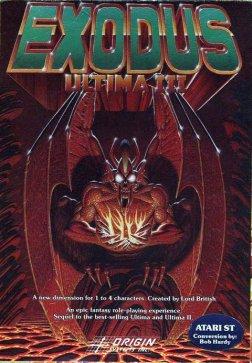 Ultima III Exodus cover