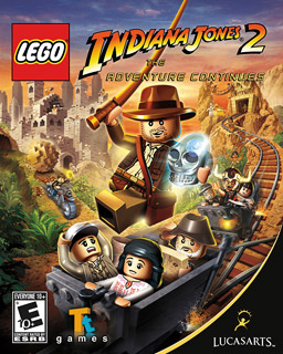 Lego Indiana Jones 2 The Adventure Continues Game Cover