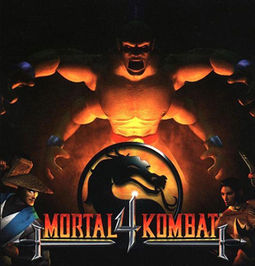 Mortal Kombat 4 cover