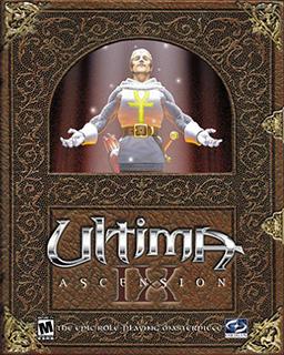Ultima IX - Ascension Coverart