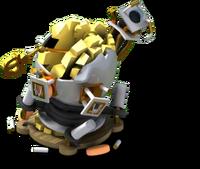 Monsterlocker7 damaged
