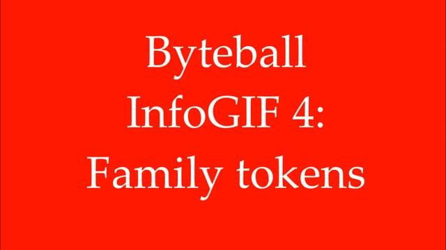 Byteball InfoGIF 4 Family tokens