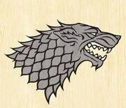 Stark wolf icon skylord