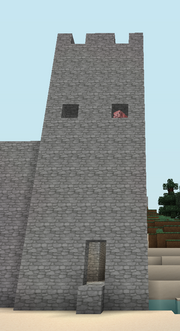 Inner corner tower pig