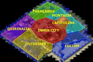 Plattegrond Byzanthium