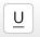 Underline button