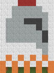 Legion helmet flag