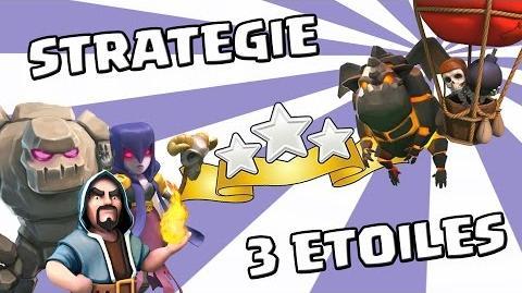 Stratégies 3 étoiles SIMPLES en guerre sur HDV9 et HDV10 - 100% - Clash of clans
