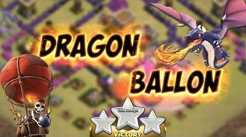 Dragon Ballon pour 3 étoiles en HDV 8 Clash Of Clans Français