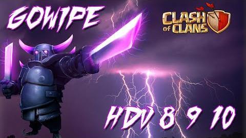 Technique Gowipe pour HDV 8 9 10 Clash Of Clans Français