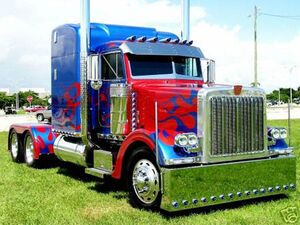 Peterbilt-optimusprime