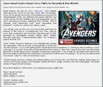 Ranger core vs avengers