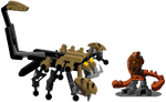Scorpio and Po-Matoran Doseki(diminished)