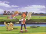 References to Pulseman in Pokémon