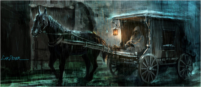 File:640x280 1749 On The Road 2d fantasy horse vehicle picture image digital art.jpg