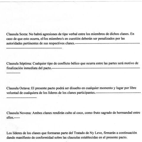 Tratado de NyLeve, Parte 2.