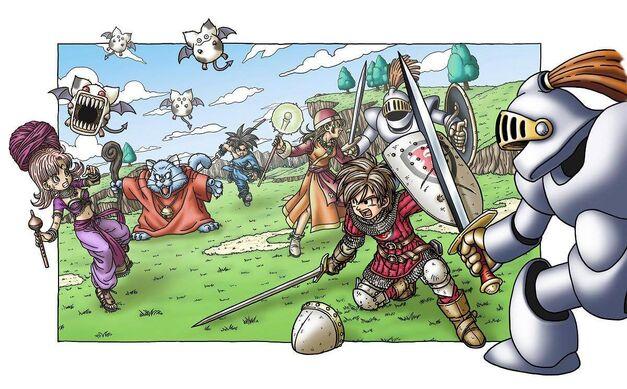 Dragon Quest IX Image Battle
