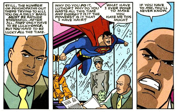 Lex Luthor Superman Adventures 27
