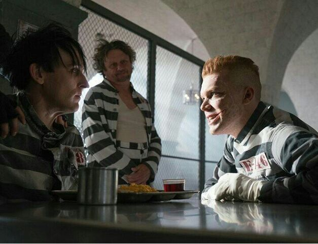 The Penguin and Jerome from Gotham