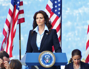 Lynda Carter as the President
