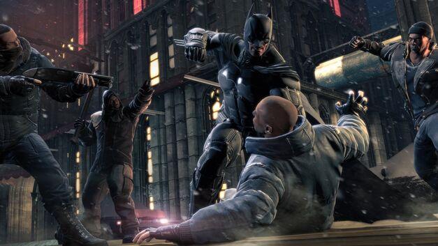batman sorry arkham origins brute punch beatdown