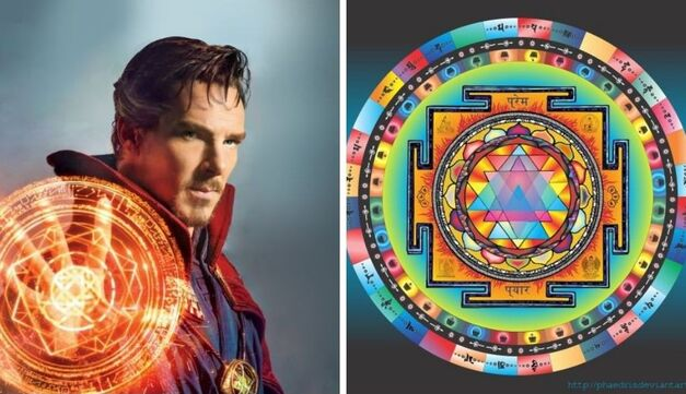 doctor strange and mystical wheel