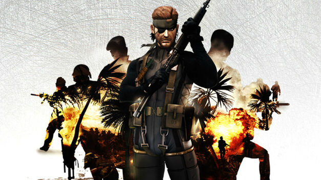 Key art from Metal Gear Solid: Portable Ops.