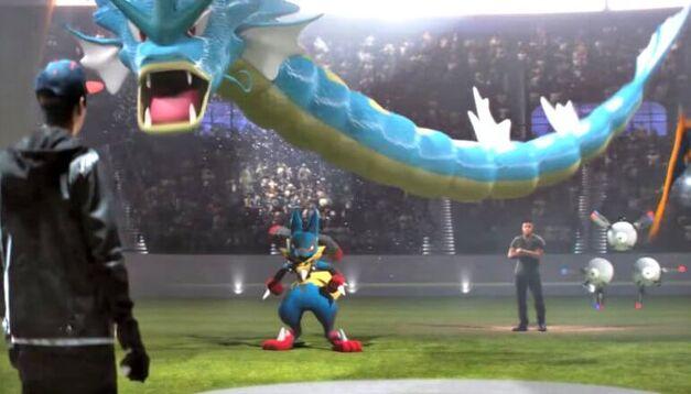 Pokemon Go Battle Gyrados
