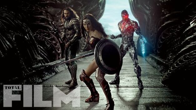 justice league wonder woman aquaman cyborg