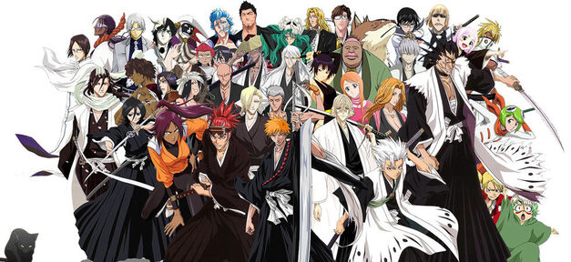 bleach manga group image