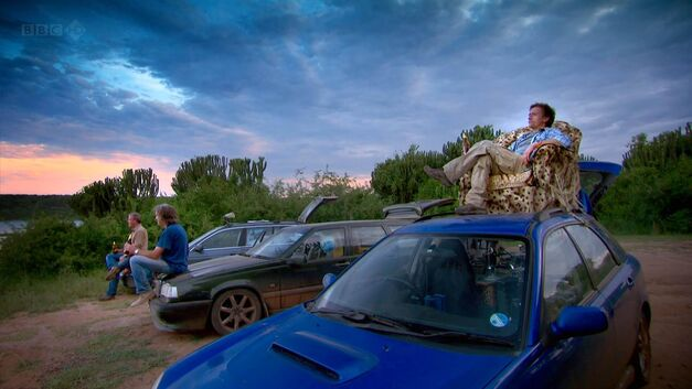 Top Gear Africa Special Cars